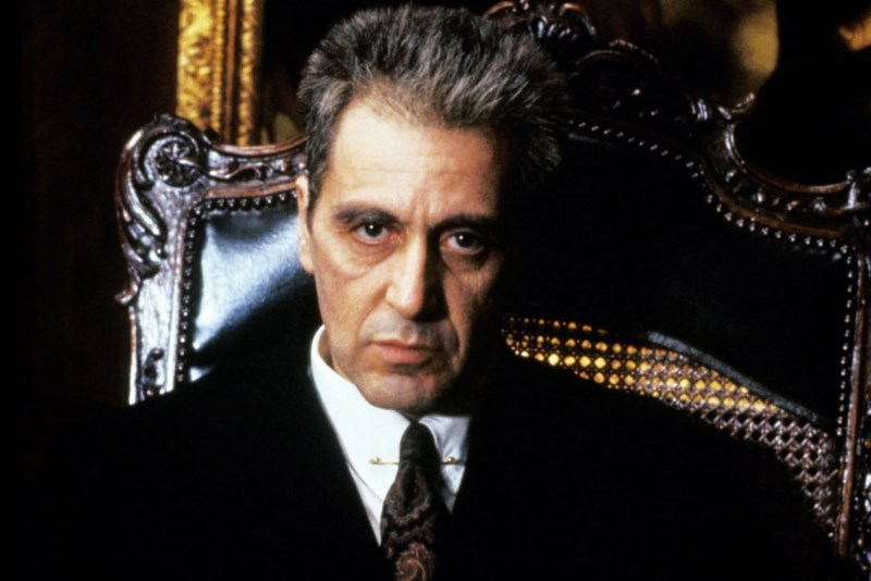 THE GODFATHER PART III, Al Pacino, 1990, © Paramount/courtesy Everett Collection, GD3 095, Photo by: Everett Collection (3721)