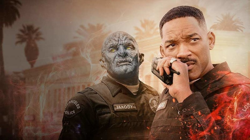Bright netflix film met will smith